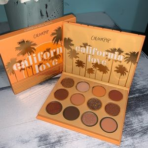 California Love Colourpop Eyeshadow Palette